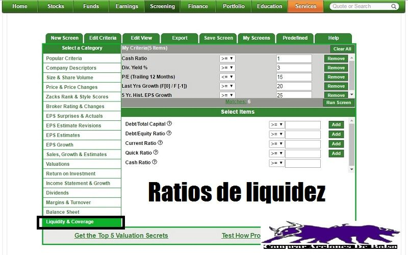 stock-screener-ratios-de-liquidez