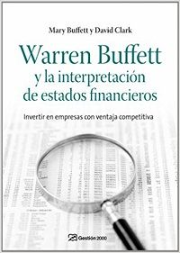 libro, warren buffett y la interpretación de los estados financieros