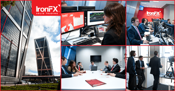 review de IronFX oficinas