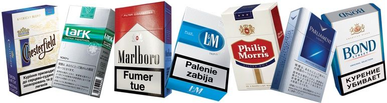 acciones de philip morris international, marcas